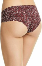 Calvin Klein Burgundy Wine Invisibles Hipster In Layered Starburst D3508-601 XS image 2