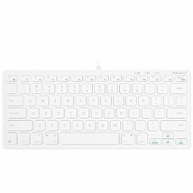 Macally Slim USB Wired Small Compact Mini Computer Keyboard for Apple Ma... - $804,29 MXN