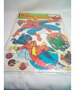 Marvel Stickers 1977 Spider Man Rare - $297.00