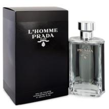 Prada L'Homme Prada Cologne 5.1 Oz Eau De Toilette Spray image 1