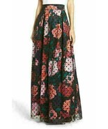 4 ELIZA J Swiss Dot Lace Overlay Floral Ball Skirt NWT $238 - $22.77