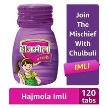 Dabur Hajmola Digestive Tablets, Imli - 120 Tablets (Bottle)  - $12.99+