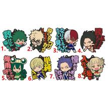 My Hero Academia BakugoAnime Rubber Strap Keychain Bag Charm Todoroki Bakugo - $5.92+