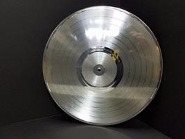 Platinum 12 inch LP plated vinyl record award quality laser-able, engrav... - $27.93