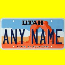 1/43-1/5 scale custom license plates any brand RC/model car - Utah tag - $11.00