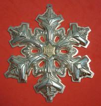 1985 Gorham Sterling Silver Snowflake Ornament - $71.10