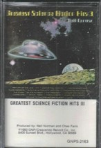 Greatest Science Fiction Hits #3 Music Cassette NEW SEALED - $3.50