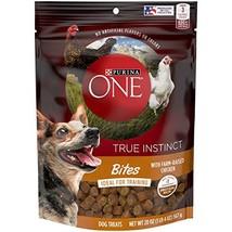 Purina ONE Made in USA Facilities Dog Training Treats, True Instinct Bit... - $14.84 CAD