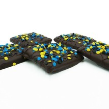 Philadelphia Candies Congratulations Graham Crackers Dark Chocolate Cove... - $11.83