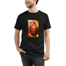Wooden Grenade Organic T-Shirt Unisex Eco-Friendly Sustainable Men and W... - $31.00