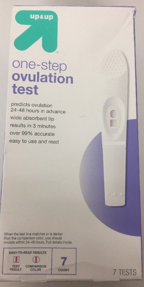 (New)up & up 7-Day Kit One Step Ovulation Test LH Test Sticks 99% Accurate