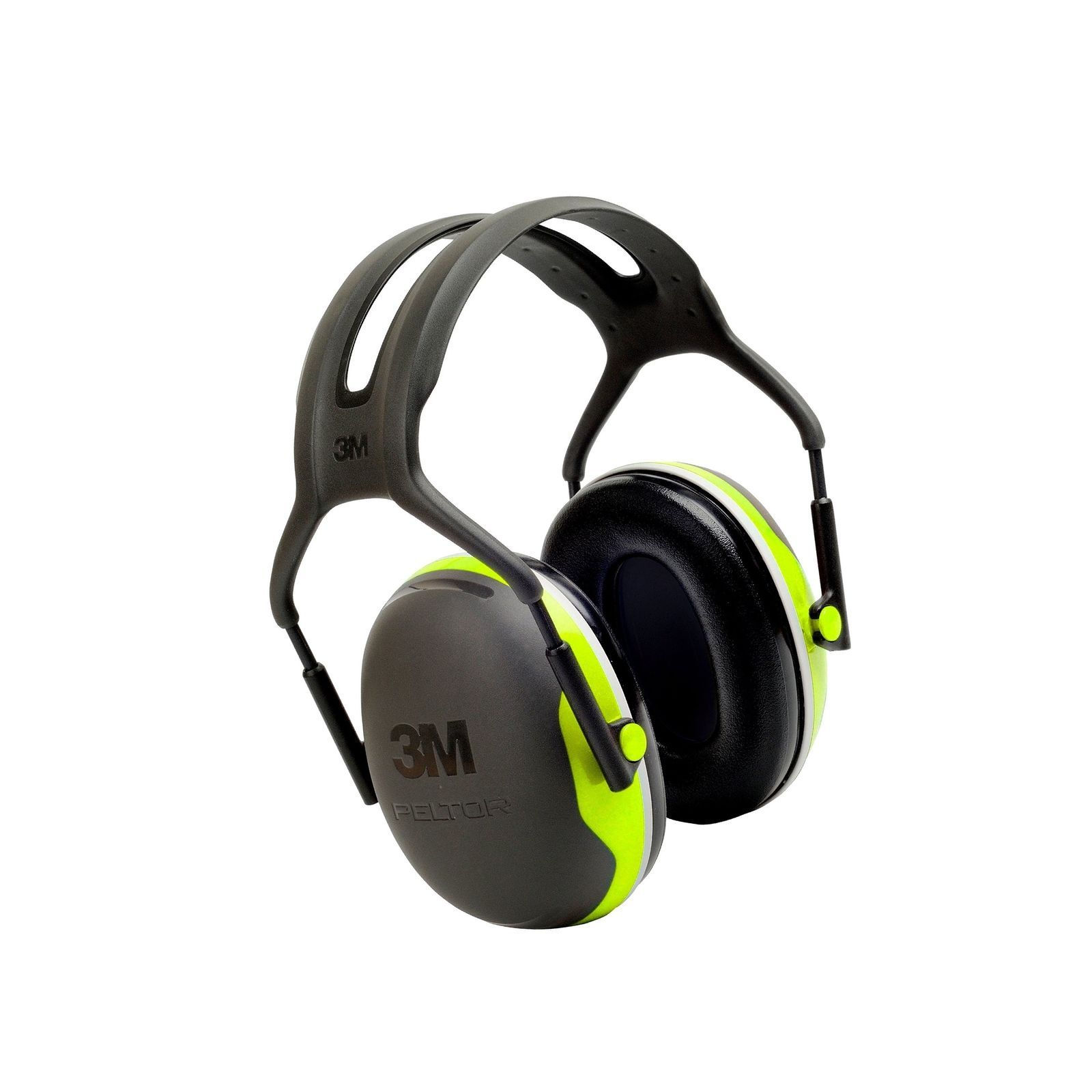 3M Peltor X-Series Over-the-Head Earmuffs, NRR 27 dB, One Size Fits Most, Bla...