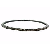 1.84 Ct Diamond Pave Setting 925 Sterling Silver Sleek Bangle Bracelet J... - $458.15