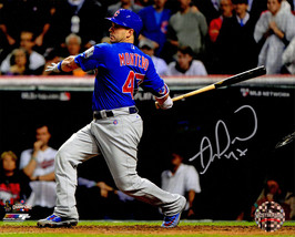MIGUEL MONTERO Signed Cubs 2016 World Series Game 7RBI 8x10 Photo - SCHW... - $68.31