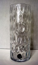 Mikasa Pebble Stone 11.8 Inch Cylindrical Vase  Made in Poland New - $9.99