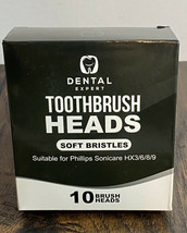 Dental Expert Toothbrush Heads Phillips Sonicare HX3/6/8/9 -10 Replaceme... - $18.99