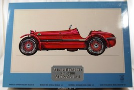 1/8 Scale Alfa Romeo 8C 2300 Monza 1931 K71 Model Kit - $724.75