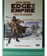 Star Wars Edge of the Empire RPG HC sourcebook, Enter the Unknown - $31.68