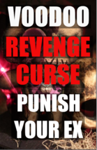 Black voodoo magick Punish your exspell curse an enemy black magick hoodoo - $99.97