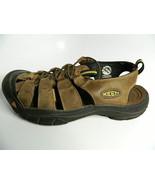 Mens Keen Brown Waterproof Sandals Size 11 #1 - $36.99