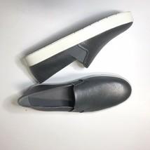 Vince Metallic Leather Blair Slip-On Sneaker Size 9 - $99.99