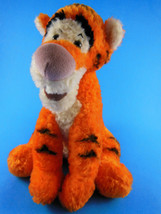 "Disneyland Walt Disney World Winnie Pooh shaggy Tigger Plush Beanie 8"" s... - $6.67"