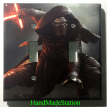 Star Wars Kylo Ren Light Switch Power Outlet Duplex wall Cover Plate Home decor image 5