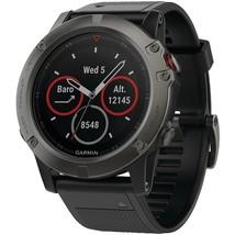 Garmin Fenix 5X 51Mm Multisport Gps Watch Sapphire Edition With Maps - $589.10