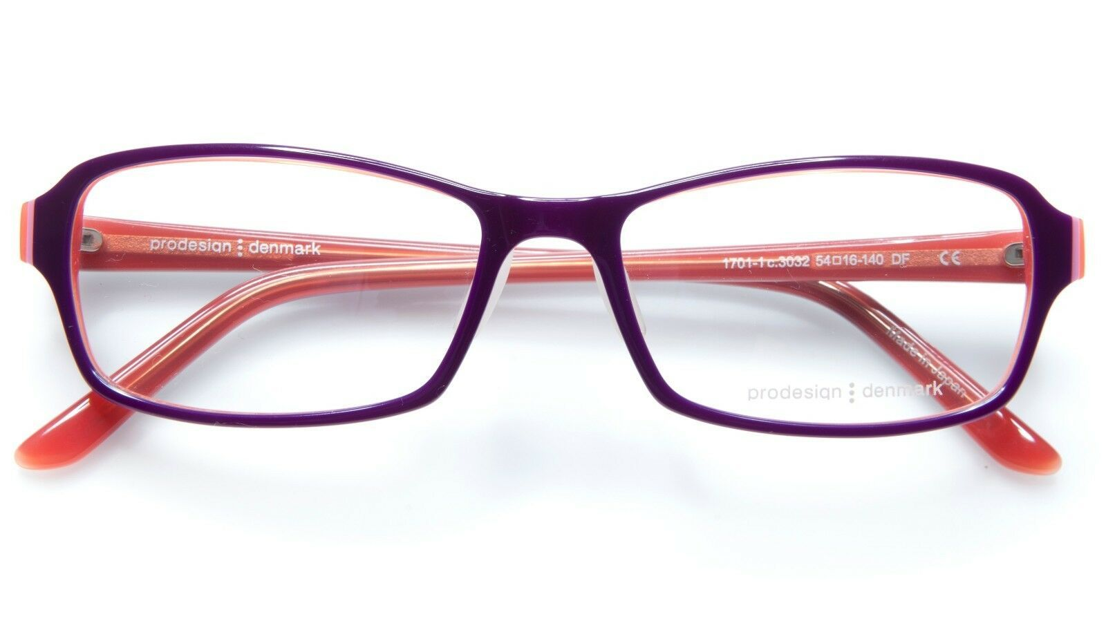 NEW PRODESIGN DENMARK 1701-1 c.3032 LILAC EYEGLASSES FRAME 54-16-140 B33mm Japan