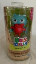 UGLY DOLLS Super Lucky Bat Figure Plastic Toy With 3 Surprises New - $11.99