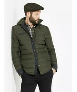 VICTORINOX Mens Swiss Army Down Framework Shirt Jacket Olive Green XS $295 - $98.01