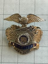 Los Angeles Police Officer Obsolete Hat Badge - $150.00