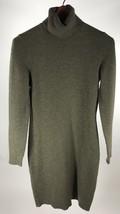 Lauren Ralph Lauren Turtleneck Sweater Dress Green Long Sleeve Sz Med Wo... - $24.74