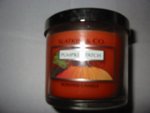 Bath and Body Works Slatkin & Co. Pumpkin Patch Candle 4 oz.