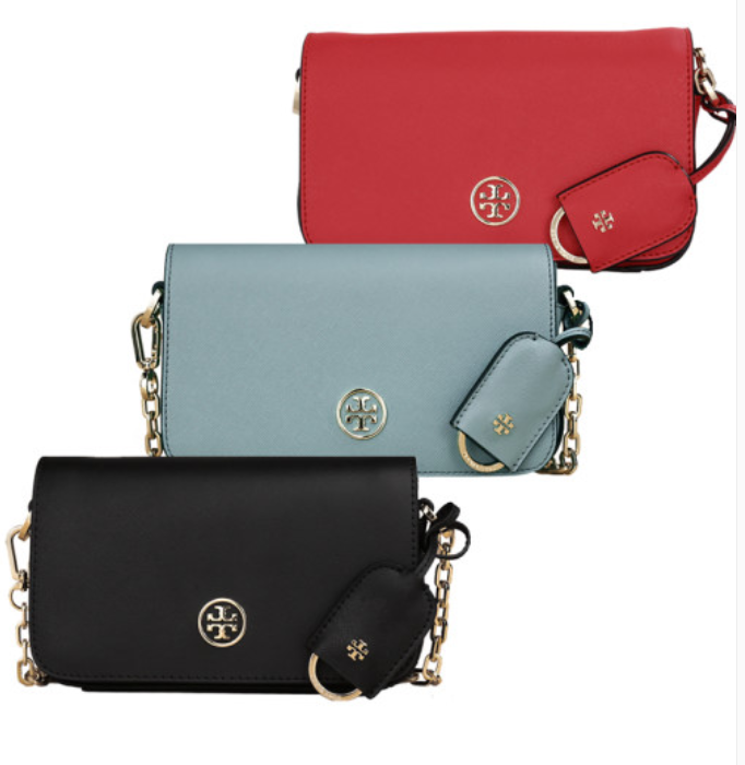 TORY BURCH Robinson Chain Mini Bag 11149679 with Free Gift & Tracking Number