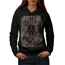 Spider Bite Beast Animal Sweatshirt Hoody Creep Bug Women Hoodie - $21.99+