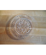 8 Anchor Hocking Star of David Bowl, Prescut Glass Dish Star,  Wexford? - $30.00