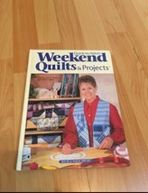"""House of White Birches' """"Quick-to-Stitch Weekend Quilts & Projects"""" -47 Projects - $8.09"""