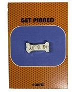 Get Pinned Lapel/ Hat Pin/ Tie Tack w/ colorful enamel -Crazy Dog Lady - $4.45