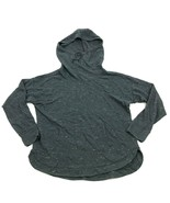 Champion Cowl Neck Hoodie Sweater Women's Size Large Gray Pullover Hoode... - $21.87