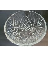 Signed Webb Corbett Vase Made England Vintage 1958 Footed Cut Crystal Fl... - $48.51