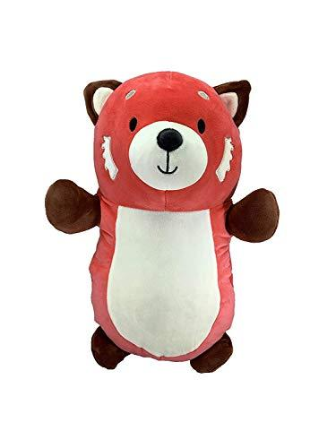 Squishmallow Kellytoy Hug Mees 10 Inch Rodrigo The Red Panda - Super Soft Plush