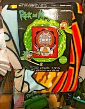 "Rick and Morty Rick Szechuan Sauce 46"" X 60"" Super Plush Fleece Throw Bl... - $44.54"