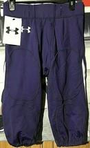 Men's Football Purple White Pant Size Large UNDER ARMOUR NWT Rengade Au... - $19.79
