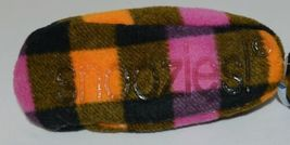 Snoozies 200192P Foot Coverings Pink Buffalo Plaid Kids 11 12 image 5