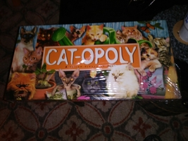 cat - opoly game brand new - $22.99