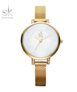 SK® Top Brand Simple Luxury Women Watch Fashion Steel Quartz Watches for... - $27.45