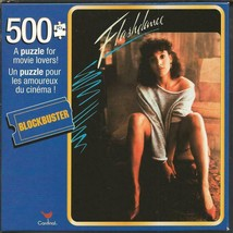 NEW SEALED 2020 Blockbuster Video Flashdance 500 Piece Jigsaw Puzzle by Cardinal - $10.88