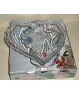 Candy Dish Heart Shaped Mikasa Crystal Tivoli - $14.50