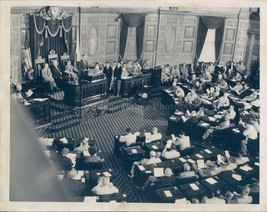 Photo Legislature Session Governor Herter Political Hurricane Relief 7x9 - $18.55